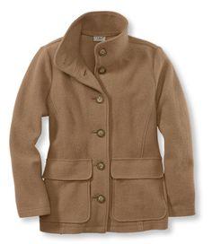 Bean's Boiled Wool Jacket: Jackets and Coats | Free Shipping at L.L.Bean