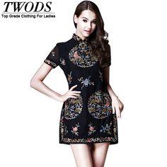 9d90a2a24d832e Image result for short collar fashion - dress women plus