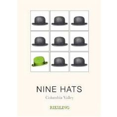 Nine Hats Riesling 2015 Wine Labels, Wine Tasting, Hats, Wine Tags, Hat