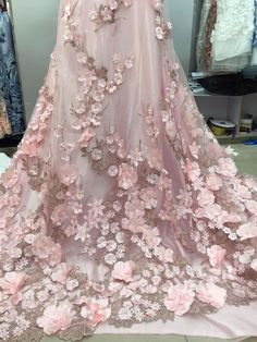 Cheap fabrics with 3d flowers, Buy Quality lace fabric directly from China 3d lace fabric Suppliers: 1yard 3D lace fabric with pink flowers, embroidered lace fabric with 3D flowers bridal Lace Fabric,embroidered tulle lace