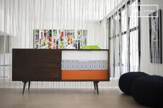 The sideboard Londress is reminiscent of typical Scandinavian furniture style due to its natural wood, elegant shapes and beautiful legs. Traditional Home Office Furniture, All Modern Furniture, Affordable Furniture, Refurbished Furniture, Classic Furniture, Furniture Layout, Furniture Styles, Grey Living Room Furniture, Apartment Furniture