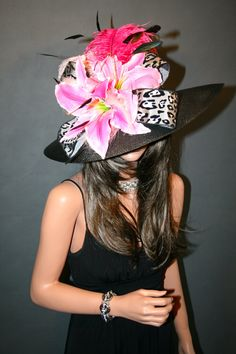 New Church Kentucky Derby Hat Fuchsia Hot Pink by churchderbyhats