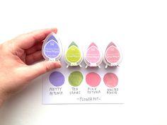 Summer Sky Dew Drop Dye Tinte Pads Set von 6 Farbe