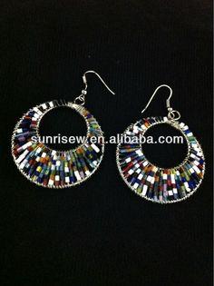 1.fashionable drop muti colour earrings.  2.Free lead nickel   3.Competitive price Crochet Earrings, Drop Earrings, Colour, Free, Jewelry, Fashion, Color, Moda, Jewlery