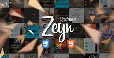 Zeyn | The Joomla Template