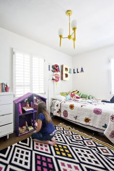 Can't Paint Your Child's Room? Add Color with a Statement Rug — Renters Solutions