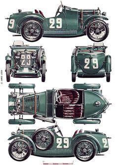 MG Midget 'M' Type (1930) | SMCars.Net - Car Blueprints Forum