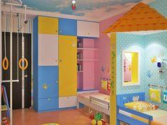 Awesome  Ideen f r Kinderzimmergestaltung kinderzimmer gestalten ideen deko kleiderschrank