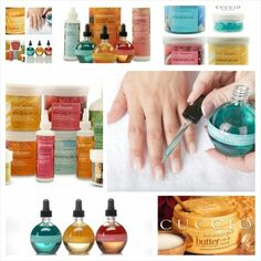 Cuccio products for the ultimate pampering!