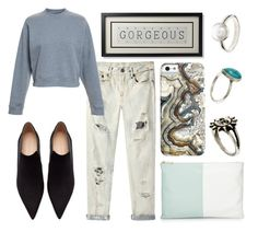 """""""#103"""" by danielsalvaterrafonseca ❤ liked on Polyvore featuring R13, Acne Studios, Neiman Marcus, ASOS and Zara"""