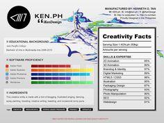 Creative Resume Update by ~iKenDesign on deviantART
