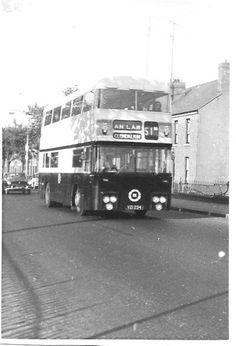 The origins of bus services in Dublin go back to the first horse tram, the Terenure route, in A network of tram routes developed quickly, and the network was electrified between 1898 and Old Pictures, Old Photos, Buses And Trains, Dublin City, Photo Engraving, Dublin Ireland, Awakening, Transportation, Irish