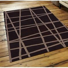Get My Rugs Hand-Tufted Brown Area Rug Rug Size: 8' x 11'