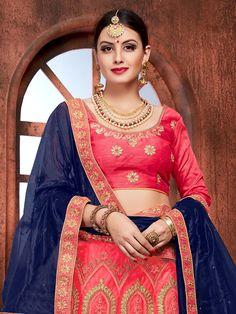 Wedding Lehenga's 2018 Buy Lehenga Online, Lehenga Choli, Sari, Small Necklace, Bridal Looks, Designer Wear, Indian Fashion, How To Wear, Beauty