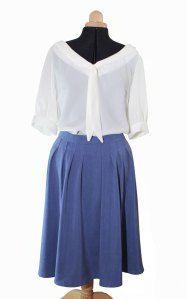 Colette jasmine blouse and zinnia skirt kit