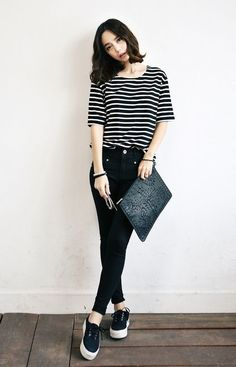 Black & White Casual Wears