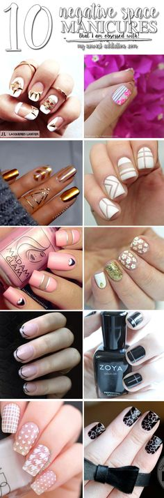 10 Negative Space Manicures - My Newest Addiction