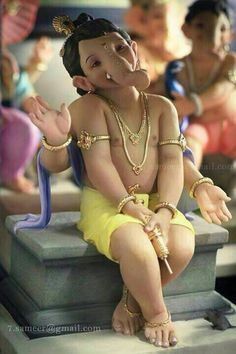 Ganpati bappa morya image by Shyam. Discover all images by Shyam. Find more awesome festival images on PicsArt. Jai Ganesh, Ganesh Lord, Ganesh Idol, Shree Ganesh, Ganesha Art, Krishna Art, Shri Ganesh Images, Ganesha Pictures, Ganpati Bappa Photo
