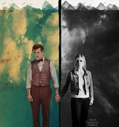 """Eleven and Rose. He's still the same Doctor who first told her """"Run"""""""