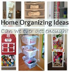 Home Organizing Ideas