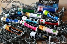Protecting Your Lips with ChapStick® and a Giveaway