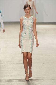 Antonio Berardi at London Fashion Week Spring 2013 - StyleBistro