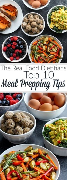 10 Meal Prepping Tips | easy meal prep tips | meal prepping for beginners | meal prep tips and tricks | meal prep for the week || The Real Food Dietitians #mealprep #mealpreptips #healthyeatingtips