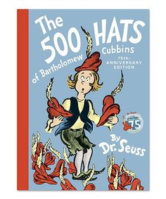 Look what I found on #zulily! The 500 Hats of Bartholomew Cubbins Hardcover #zulilyfinds