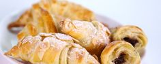 Easy Breakfast Pastry Croissant with puff pastry
