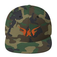 Camo snapback featuring out Shine A Light Logo in a unique way. This is a classic snapback, with a structured wool blend and plastic snap closure. Snapback Caps, Black Snapback, Thing 1, Hats For Sale, Cristiano, Snap Backs, Camouflage, Mustang, Wool Blend
