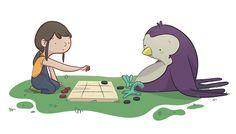 EDUCATIONAL BOOKS - Ester Garay, ilustradora #illustration #ilustracion #educational #book #infantil #childrenbook #children #read #libro #texto #beautiful #color #tender #lectura #drawing #dibujo #sparrow #swallow #girl #play #jugar #game #juego #niña #funny