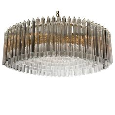 Large Oval Shaped Camer Fixture or Chandelier | From a unique collection of antique and modern chandeliers and pendants at https://www.1stdibs.com/furniture/lighting/chandeliers-pendant-lights/