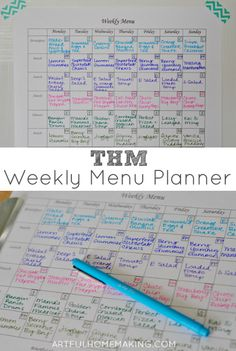 Need help with meal planning? Here's a sample menu and a free Trim Healthy Mama menu planner sheet (which will work even if you're not doing THM!).