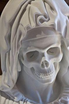 Death is the maiden...   idea       #skulls #skullart