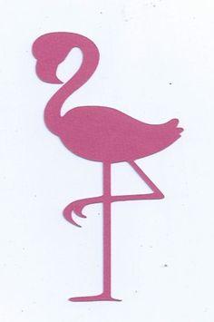 Flamingo silhouette par hilemanhouse sur Etsy
