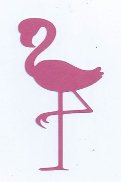 Flamingo silhouette by hilemanhouse on Etsy, $1.99
