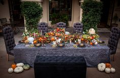 We have pulled together eight amazing fall table designs that have caught our attention and may just perhaps inspire your own décor this 2016.