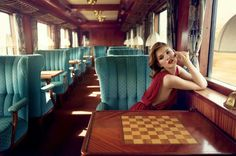Chess on the Orient Express?