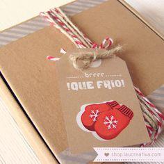 Etiquetas Navidad  http://shop.laucreativa.com/product/etiquetas-navidad