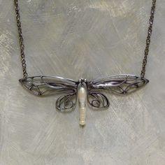 Motýlek / Zboží prodejce KB šperky | Fler.cz Jewellery Maker, Art Nouveau Jewelry, Soldering, Wire Wrapping, Tiffany, Jewelery, Jewelry, Welding, Brazing