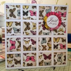 I don't have many paper pads and this has become very much my go to paper set as it incorp. Card Tags, I Card, Craftwork Cards, Butterfly Cards, Card Templates, Handmade Cards, Circles, Squares, Butterflies