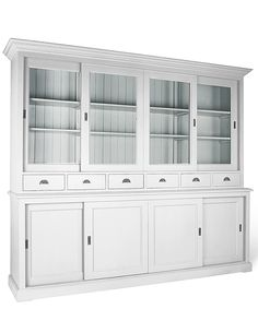 Four door French Country dresser