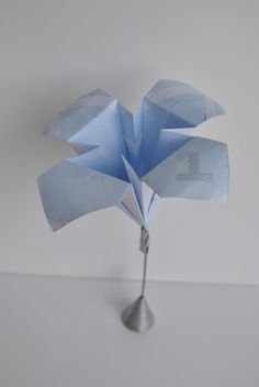 Et une autre création : une fleur. Parfait en ce début de printemps !