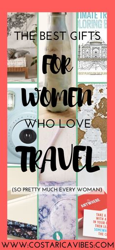 If you are looking for a great present for a woman who loves to travel this list will totally help you out.
