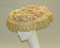 Hat ca. 1900 via The Costume Institute of the Metropolitan Museum of Art