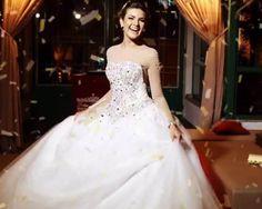 Formal Dresses, Wedding Dresses, One Shoulder Wedding Dress, Ball Gowns, Tv, Fashion, Sleeve Wedding Gowns, Quinceanera, Ballerina