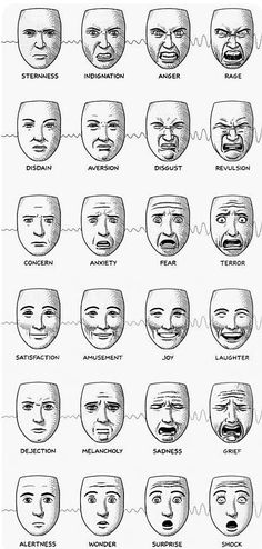 New Drawing Reference Face Art Ideas - Körper Zeichnen Emotions Drawing, Drawing Sketches, Cool Drawings, Pencil Sketching, Realistic Drawings, Drawing Tips, Facial Expressions Drawing, Drawing Cartoon Faces, Human Figure Drawing