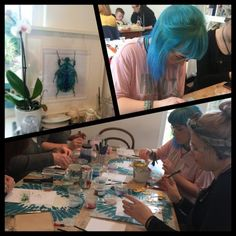 Twice fired workshop in full swing fused glass Gift Vouchers, Fused Glass, Wonders Of The World, Workshop, Fire, Gifts, Painting, Atelier, Presents