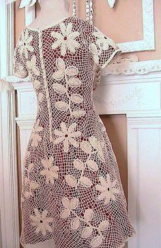 Katty's Cosy Cove: Making an Irish Crochet Dress.