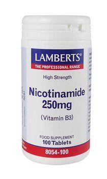Lamberts Nicotinamide 250mg